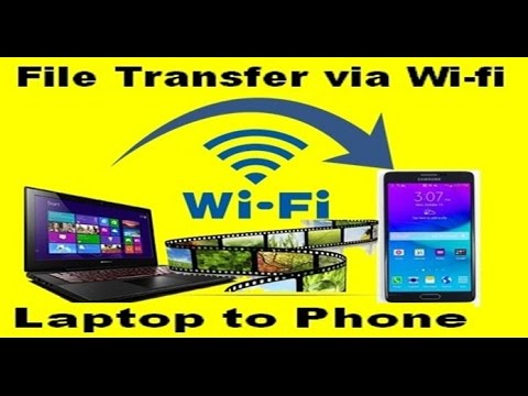 how to connect wifi from laptop to mobile