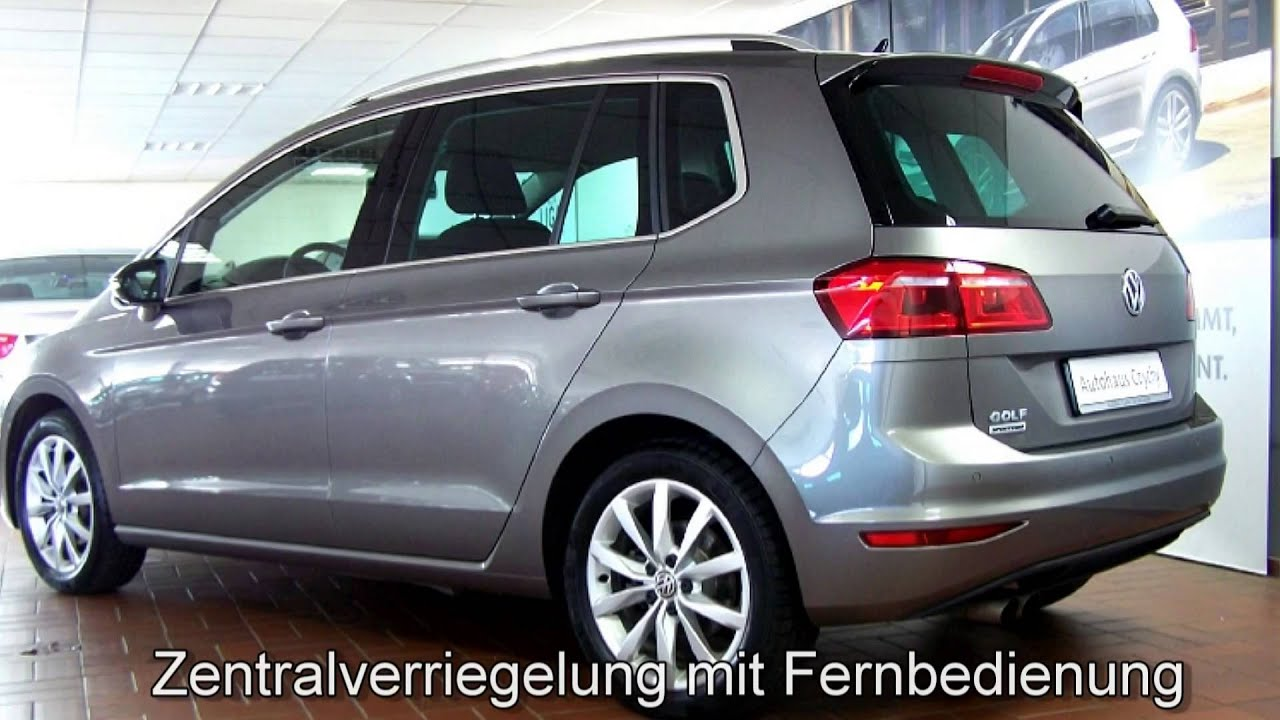 volkswagen golf sportsvan 1 4 tsi dsg highline fw552514. Black Bedroom Furniture Sets. Home Design Ideas