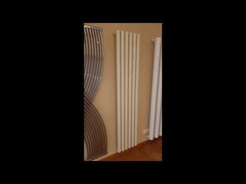 Termoarredo tubolare da soggiorno di design moderno, Tubonestyle.
