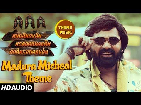 AAA►Madurai Micheal Theme Song || STR, Shriya Saran, Tamannaah, Yuvan Shankar Raja | Tamil Songs