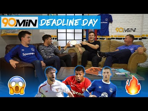 Mbappe signs for PSG! | Ross Barkley rejects Chelsea!? | Llorente to Spurs!? | 90min Deadline Day