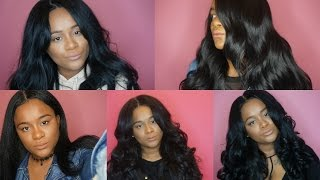 Top 5 Synthetic Wigs Under $30| Outre Stunna | ModelModel  Number 202 | Freetress Equal Folami