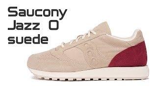 Обзор кроссовок Saucony Jazz Original Suede