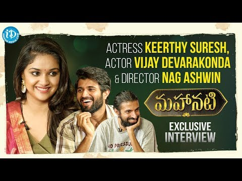 #Mahanati Keerthy Suresh & Nag Ashwin Interviewed by Vijay Devarakonda || Talking Movies With iDream thumbnail