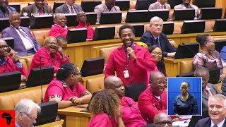FUNNY ANC Jackson Mthembu vs EFF In Parliament