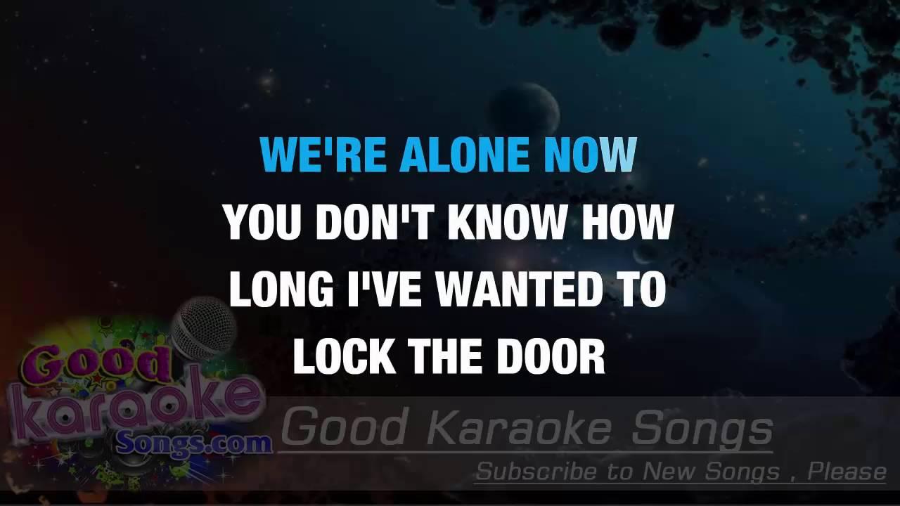 Your Man Josh Turner Lyrics Karaoke Goodkaraokesongs