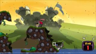 Worms: Reloaded Gameplay (PC)