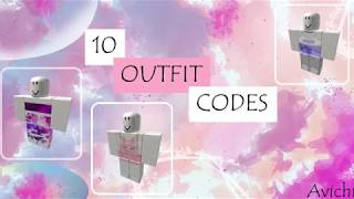 10 Outfits for Girls (codes) | ROBLOX | Avichi