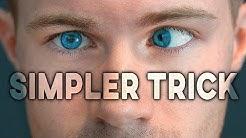 Augen EINZELN bewegen mit diesem Trick! | Selbstexperiment