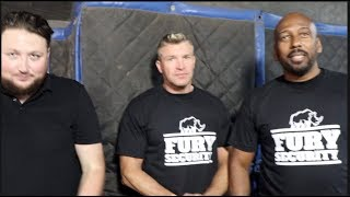 39 WE HAVE A LOT OF BACK UP 39 FURY SECURITY IS LAUNCHED HEADED BY PETER FURY 39 S SON PETER FURY JR