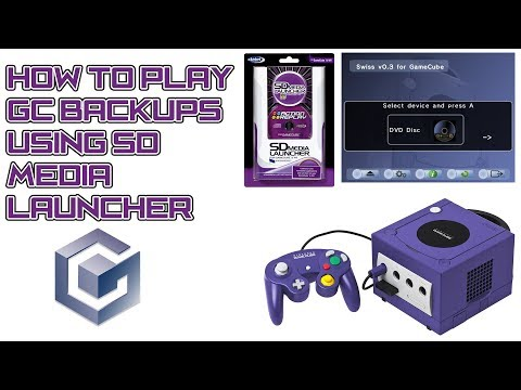 How To Load GameCube Backups Using SD Media Launcher (SWISS)™【1080p HD 60fps】