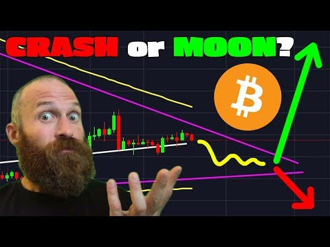 Bitcoin Breakout IMMINENT // CRASH or Moon??? // Send $BTC w/o Internet!!!