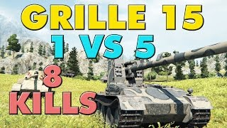 World of Tanks Grille 15 - 8 Kills - 9.5K Damage