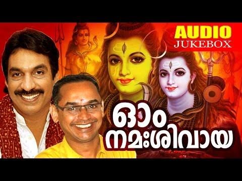 Superhit Hindu Devotional Album Malayalam | Ohm Namah Shivaya | Audio Jukebox