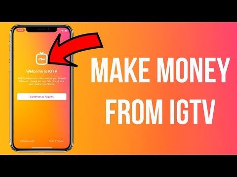 How to Make Money From Instagram's IGTV (Make Money From IGTV) - Get Paid From Instagram