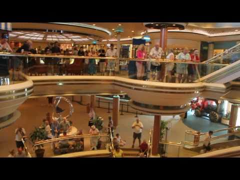 Monarch of the Seas ship tour (Pullmantur)