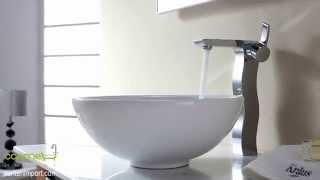 Керамические раковины (умывальники) для ванной от торговой марки Kraus (США) (www.santehimport.com)