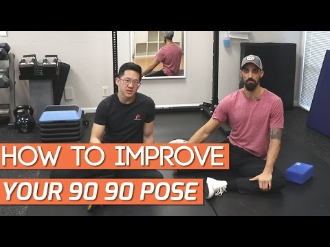 How to improve hip mobility for 90 90/shin box/modified pigeon