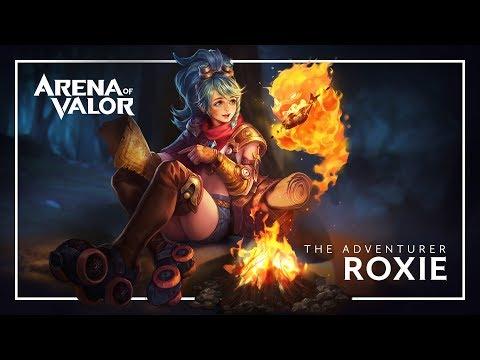 Build Roxie Nova Heroina Arena Of Valor Brasil Youtube Gaming