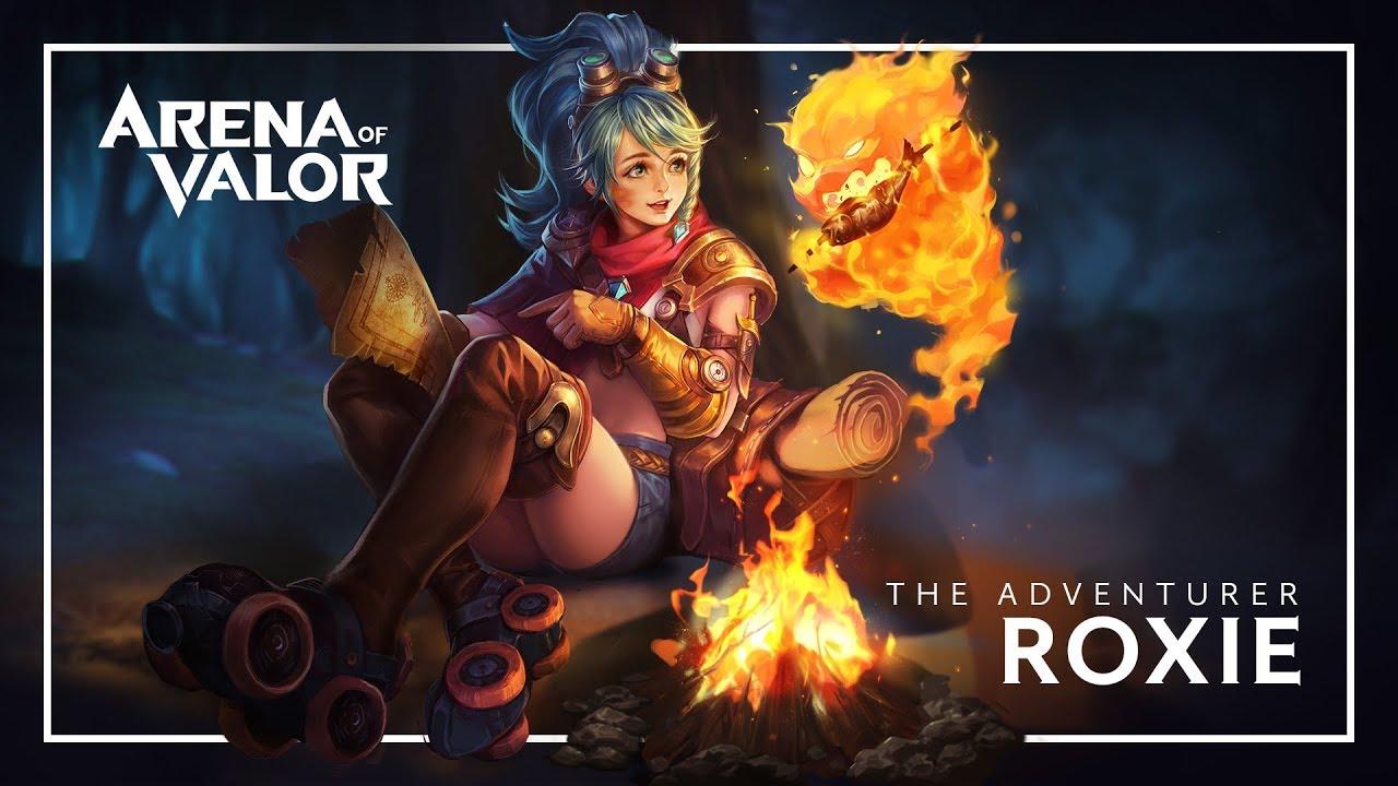 Roxie: Hero Spotlight | Gameplay - Arena of Valor