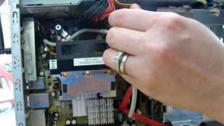 HP Pavilion Slimline Powers On No display FIX!!!!