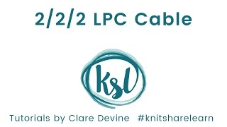 2/2/2 LPC Cable