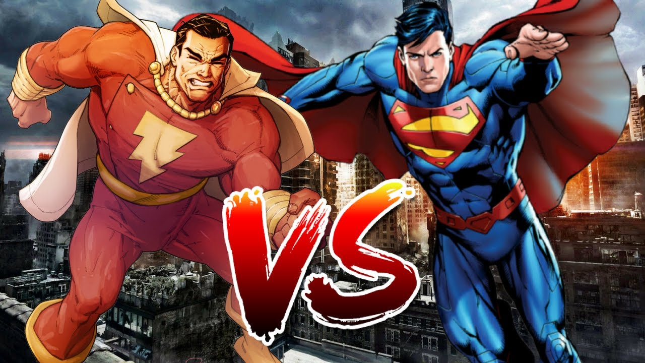 Superman VS Shazam | Who Wins?