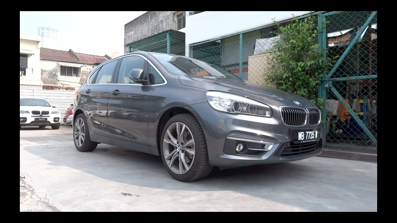 2015 bmw 218i active tourer luxury line start up and full vehicle tour youtube. Black Bedroom Furniture Sets. Home Design Ideas