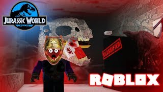 OHH IM TELLIN' ON YOU! INDOMINOUS REX PADDOCK IN ROBLOX- Dinosaur Videos Family Friendly For Kids
