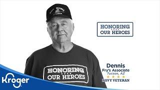 Honoring our Heroes Veteran Dennis │VIDEO │Kroger