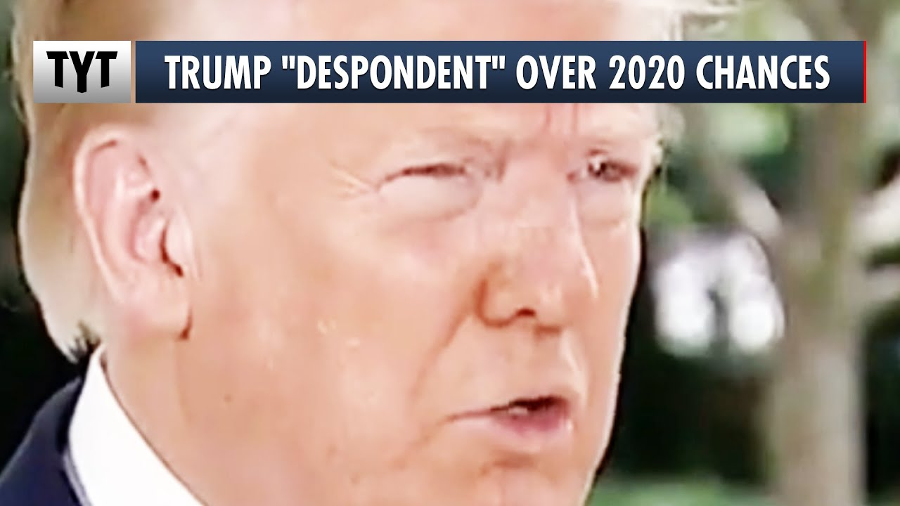 "Trump Insider: He's ""Despondent,"" Not In A Good Place Mentally Over 2020 Chances"