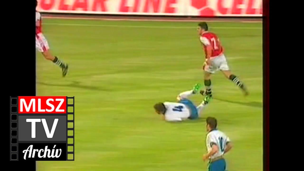 Magyarország-Olaszország | 0-2 | 1996. 06. 01 | MLSZ TV Archív