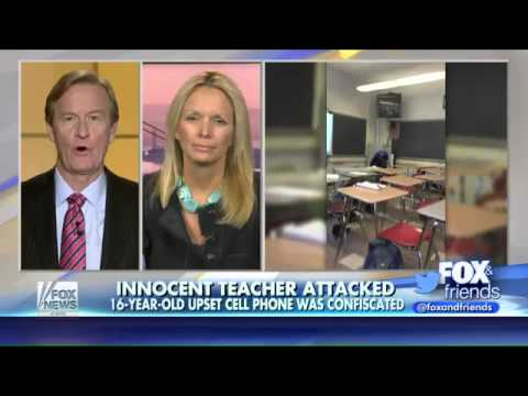 Teen attacks teacher after cellphone was confiscated