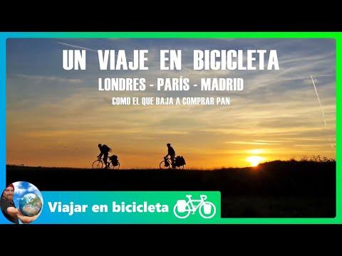 Documental de un viaje en bicicleta: Londres-París-Madrid | Como el que baja a comprar pan