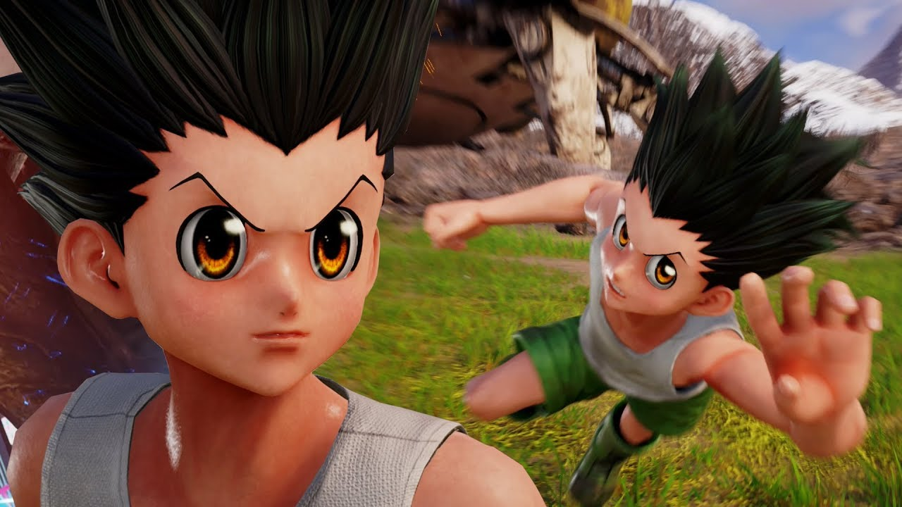 THE ULTIMATE ROCK PAPER SCISSORS!!! Jump Force Closed Beta Gon Gameplay!
