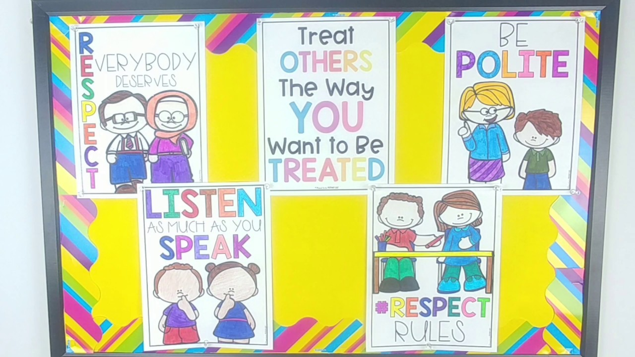 hight resolution of Classroom Respect Activities for Kids - YouTube