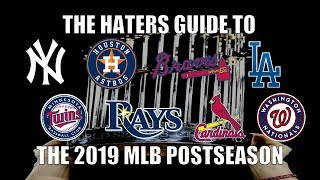 The Haters Guide to the 2019 MLB Postseason