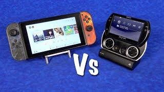 Nintendo SWITCH vs PSP Go - Sony did it 8 years earlier?!?