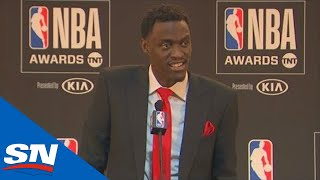 Pascal Siakam Speaks After Winning Most Improved Player At NBA Awards