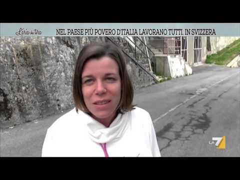 Nel paese più povero d'Italia lavorano tutti in Svizzera