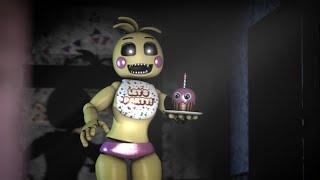 Atakowanie od strony Toy Animatroników | Five Nights at Freddy's Simulator#2