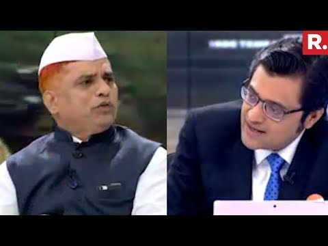Subhash Talekar Spokesperson Of The Dabbawala Association Speaks To Arnab Goswami