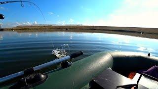 Трудовая рыбалка на новом для себя водоеме Щука и окунь на спиннинг