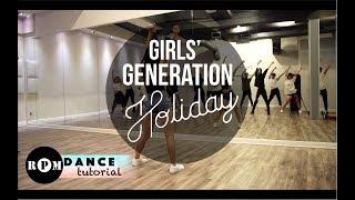 "Girls' Generation ""Holiday"" Dance Tutorial (Pre-chorus, Chorus)"