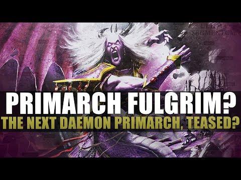 The Rumour Engine - Fulgrim Teased?