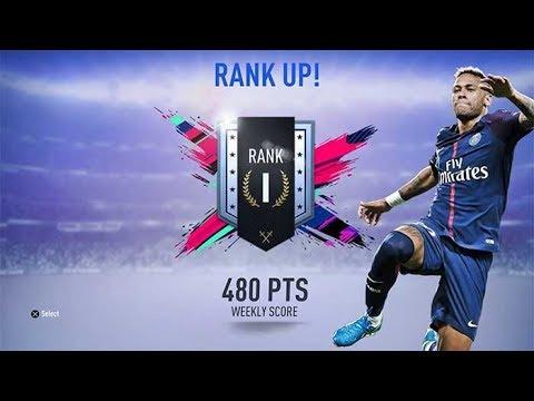 SUBIENDO A RANGO I  FUT RIVALS  FIFA 19 ULTIMATE TEAM  DAVIDSP