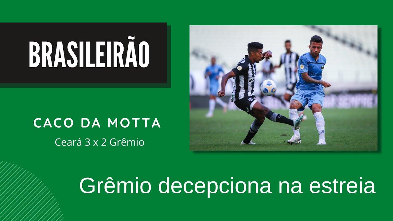 Grêmio decepciona na estréia do Brasileirão 2021