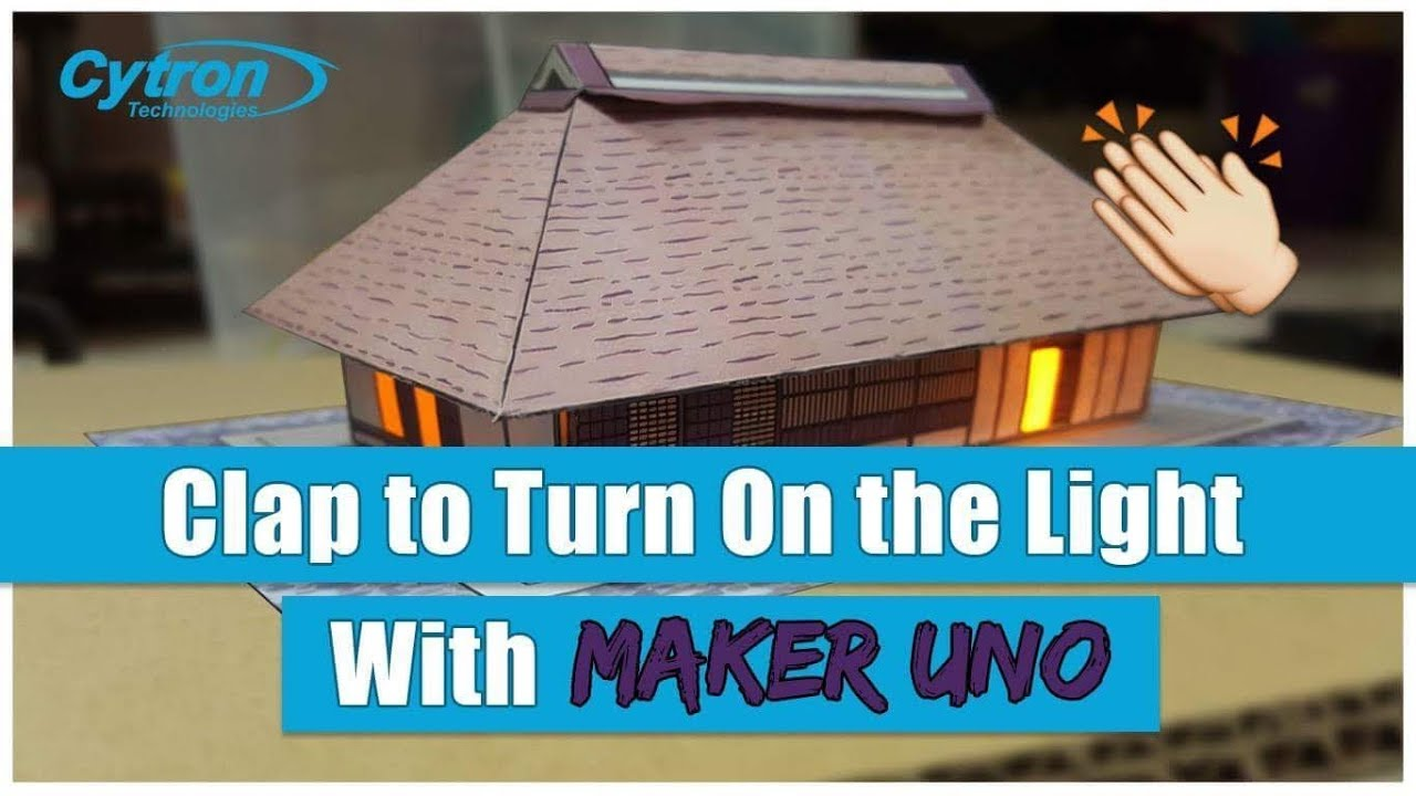 Clap To Turn On The Light Using Arduino Youtube How Use Diy Switch Build Circuit