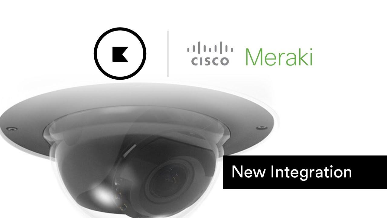 Kisi Access Control New Integration Announcement with Cisco Meraki Security Cameras