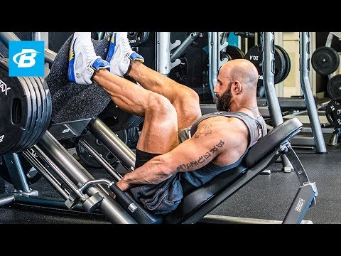 Machine Shock Leg Day Workout From Hell